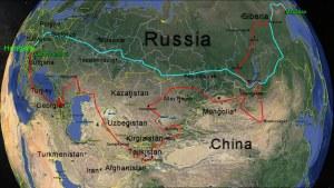 Az Útvonal / The planned route