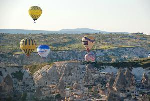 Kappadokia hőlégballonok / Ballons over Capadokia