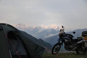Kilátás a sátorból / View from my tent