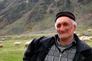 Grúz juhászember, Jurij / Georgian shepherd man Jurij