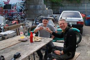 Délutáni koccintás Juriccsal / an afternoon drink with Jurich