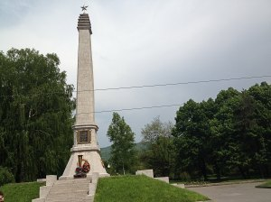 Háborús emlékhely / WW II memorial place