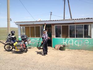 Útszéli kávézó / Place to eat beside the road
