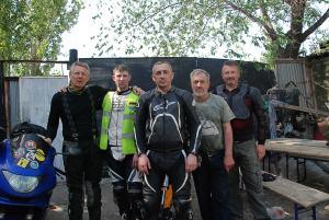 Búcsú Volgográdtól és az omszki motorosoktól