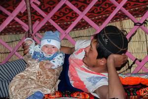 A büszke apa és a kisfia The proud father and his son