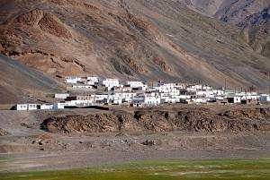 Murghab városa The city of Murghab