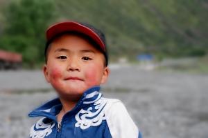 Kirgiz kisfiú Kirgiz boy