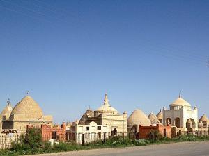 Kazak temető / Kazah cemetery