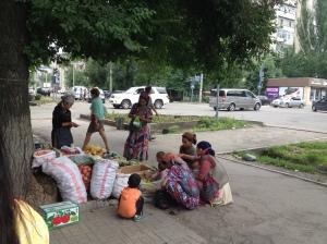 Élelem kéregetés Begging for food