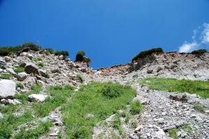 A meredek túraútvonal / The steep hiking track