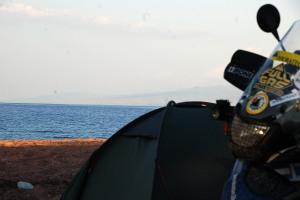 Az Issyk Kul tó partján / By the lake Issyk Kul
