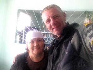 Rendkívül kedves néni. Nála reggeliztem és kávéztam / Very, very nice lady. I had breakfast and coffee at her place