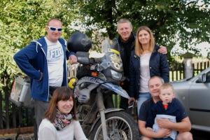 A Lengyel csapat akikkel Osweicim-ben találkoztam / The polish team, who I met in Osweicim